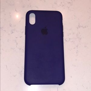 Iphone X Apple silicone case